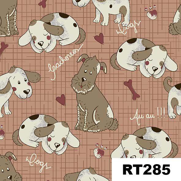 Cachorrinhos Country  - Tecidos Digitais