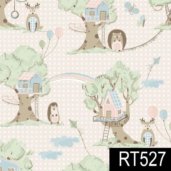 Casas na Árvore  - Tecidos Digitais
