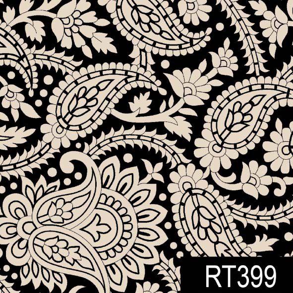 Cashmere Finesse Preto  - Tecidos Digitais