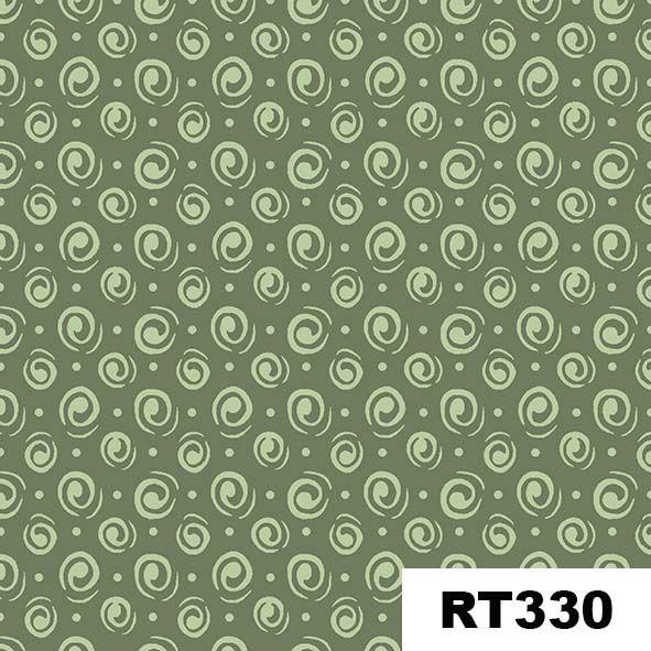 Espiral Verde  - Tecidos Digitais