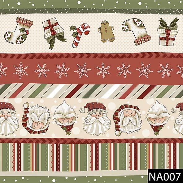 Faixas Natal  - Tecidos Digitais