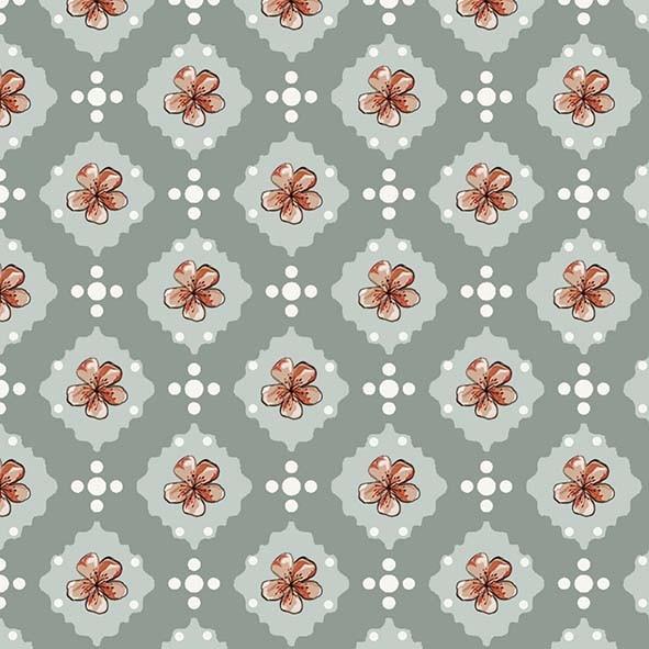Flor de Cerejeira  - Tecidos Digitais