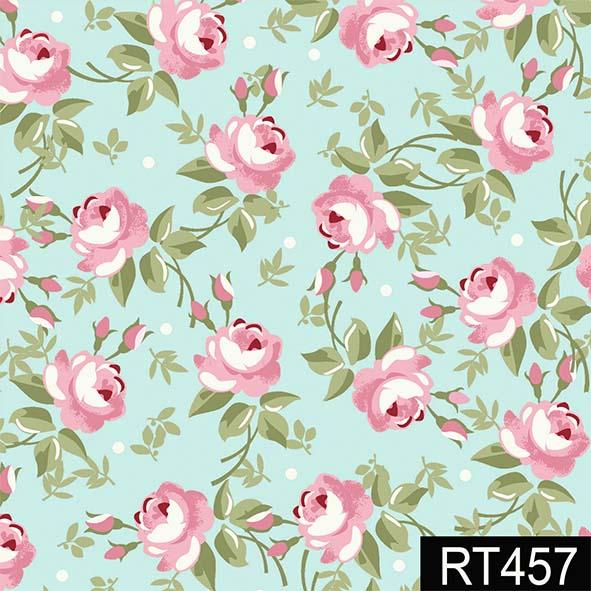 Floral Fadas Tiffany  - Tecidos Digitais