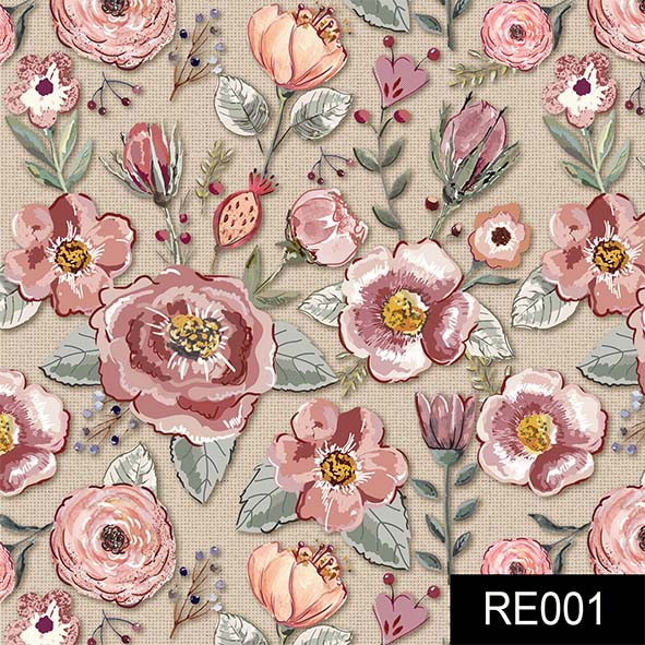 Floral Sweet Claro  - Tecidos Digitais