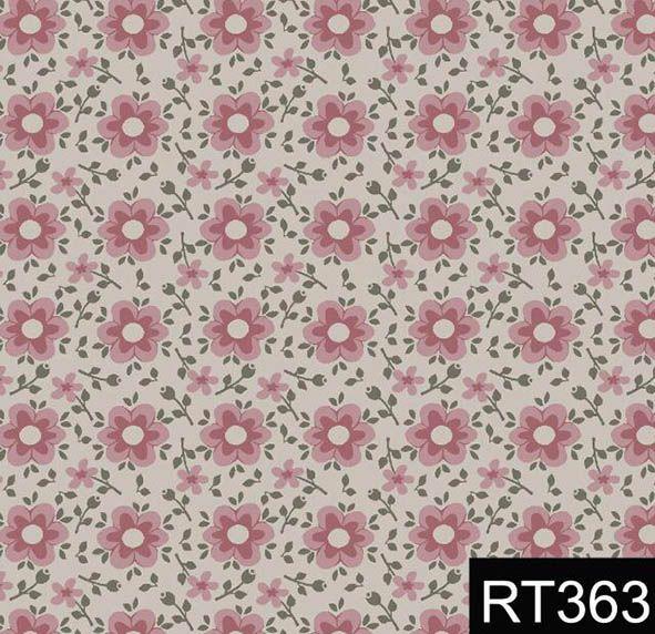 Florido Delicado Rosa  - Tecidos Digitais