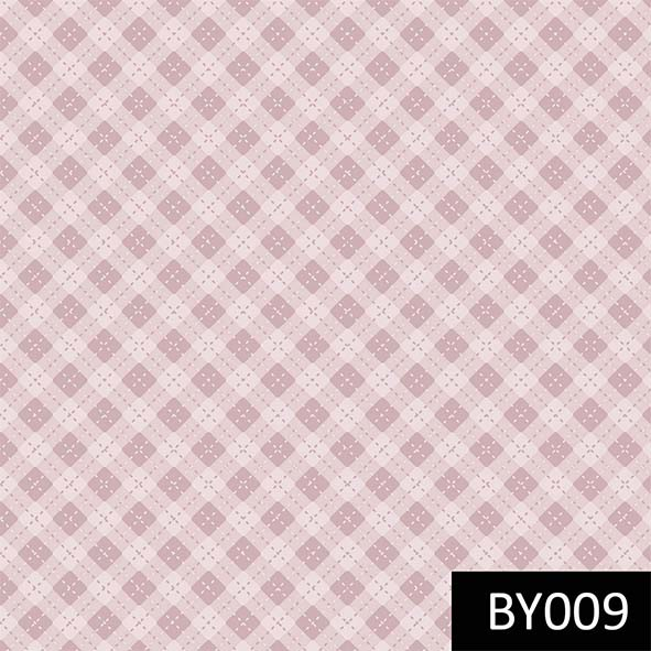 Hexágonos Baby Menina  - Tecidos Digitais