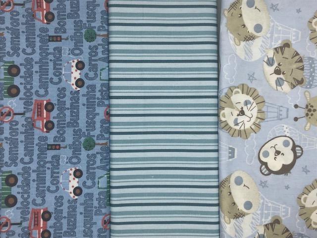 Kit Amarradinho 30x150cm - 1038  - Tecidos Digitais