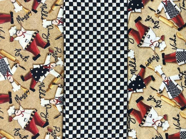 Kit Amarradinho 30x150cm - 1209 D  - Tecidos Digitais