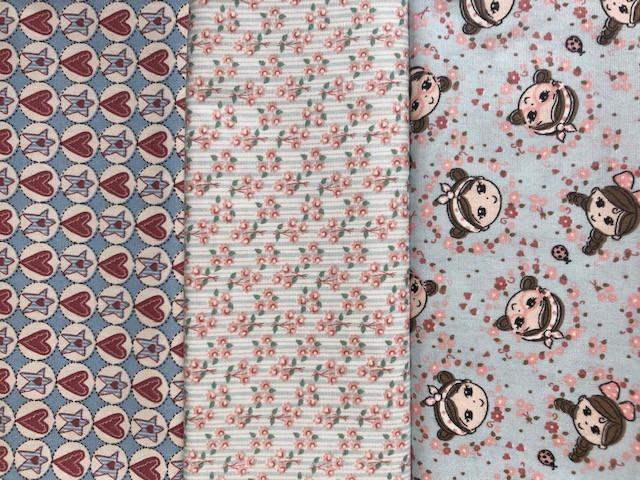 Kit Amarradinho 30x150cm - 157  - Tecidos Digitais
