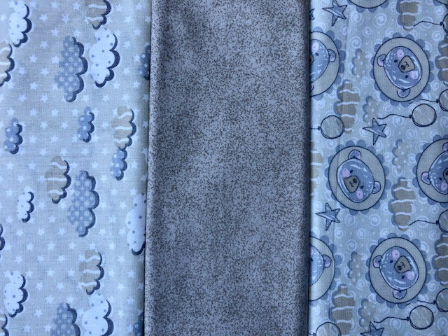 Kit Amarradinho 30x150cm - 333  - Tecidos Digitais