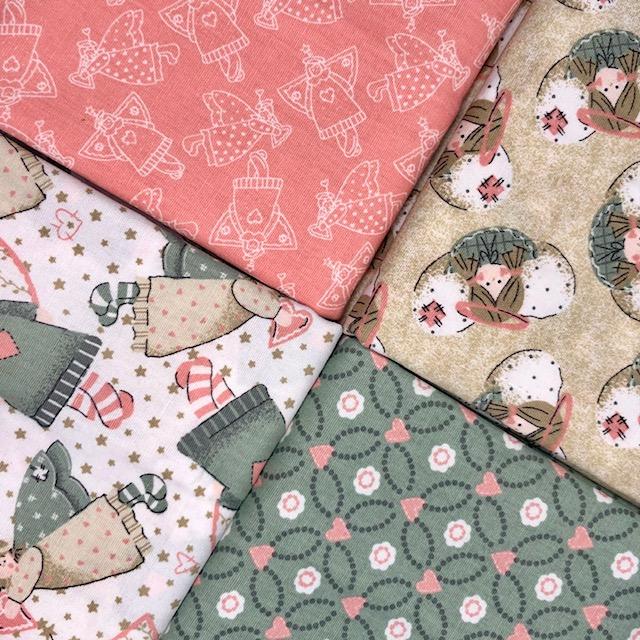 Kit Amarradinho Angels Rosa - 50cm x 150cm  - Tecidos Digitais