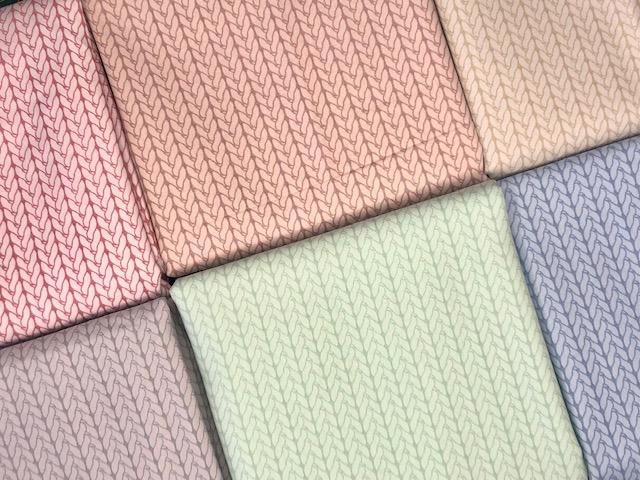 Kit Amarradinho Basic Tricôs 2 - 50cm x 150cm  - Tecidos Digitais