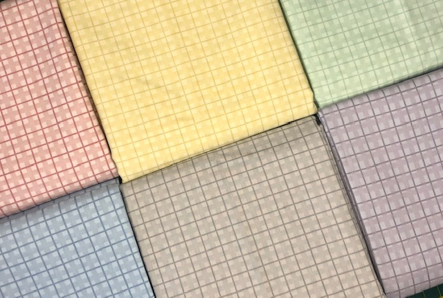 Kit Amarradinho Basic Xadrez 2 - 50cm x 150cm  - Tecidos Digitais