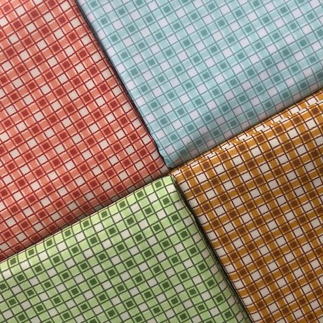 Kit Amarradinho Básico Frutas - 50cm x 150cm  - Tecidos Digitais