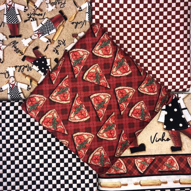 Kit Amarradinho Chefs - 50cm x 150cm  - Tecidos Digitais