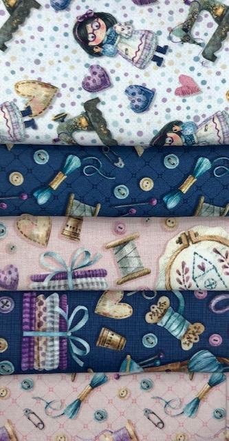 Kit Amarradinho Costura - 50cm x 75cm  - Tecidos Digitais