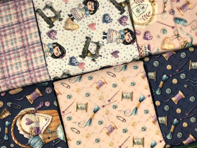 Kit Amarradinho Costura Country - 50cm x 150cm  - Tecidos Digitais