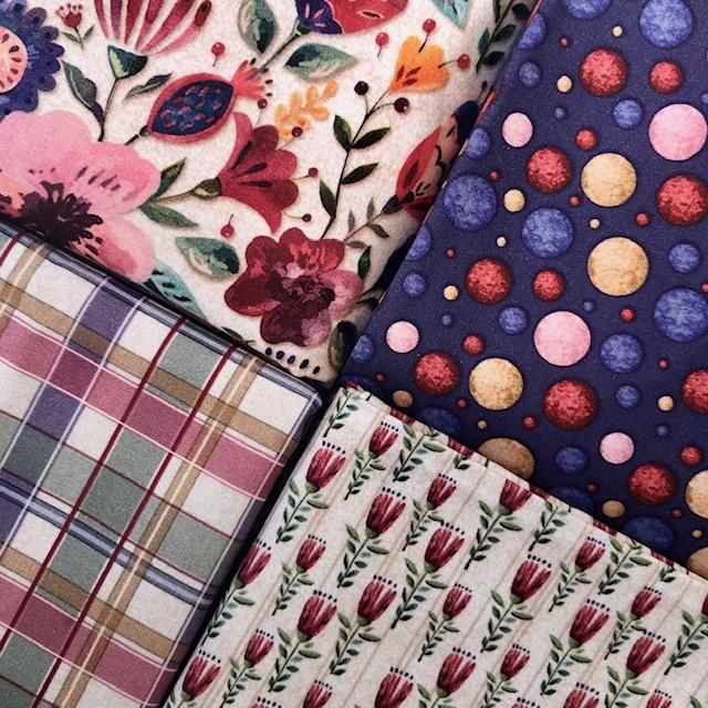Kit Elegance 2 - 50cm x 150cm  - Tecidos Digitais