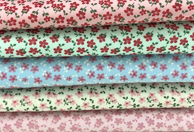 Kit Amarradinho florzinhas 2 - 50cm x 150cm  - Tecidos Digitais