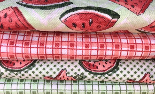 Kit Amarradinho Frutas 2 - 50cm x 150cm  - Tecidos Digitais