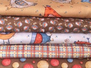 Kit Amarradinho Galinhas Country - 50cm x 150cm  - Tecidos Digitais