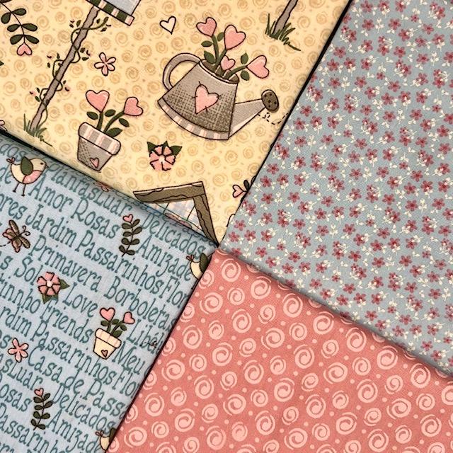Kit Amarradinho Garden 1 - 50cm x 150cm  - Tecidos Digitais