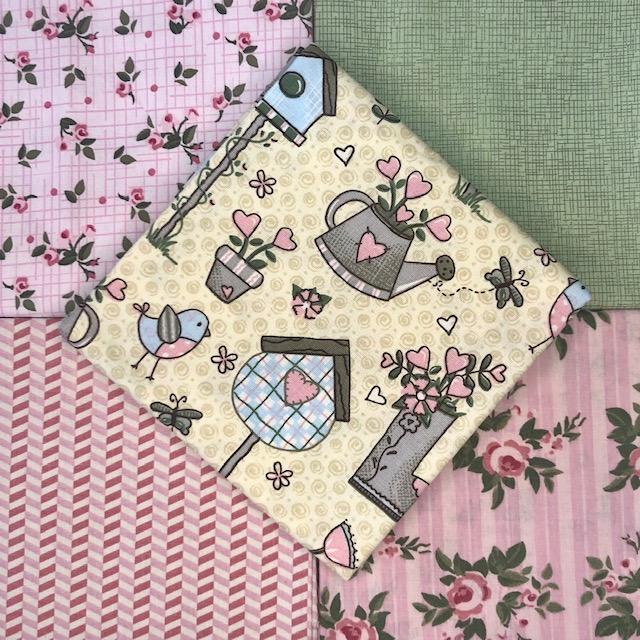 Kit Amarradinho Garden Chic - 50cm x 75cm  - Tecidos Digitais