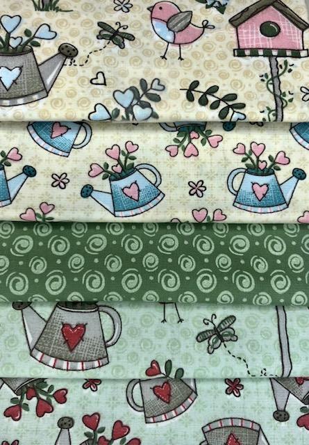 Kit Amarradinho Garden Jardim - 50cm x 75cm  - Tecidos Digitais