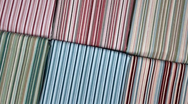 Kit Amarradinho Listrado - 50cm x 150cm  - Tecidos Digitais
