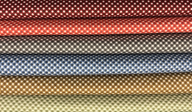 Kit Amarradinho Micro Xadrez 2 - 50cm x 150cm  - Tecidos Digitais