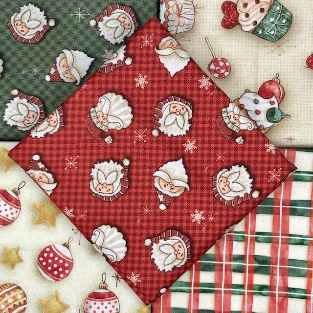 Kit Amarradinho Natal 2 - 50cm x 75cm  - Tecidos Digitais