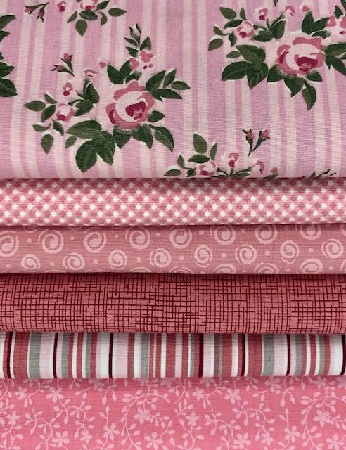 Kit Delicado Rosa - 50cm x 150cm  - Tecidos Digitais