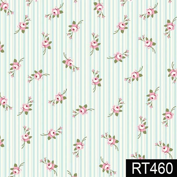 Micro Florais Fadas Tiffany  - Tecidos Digitais