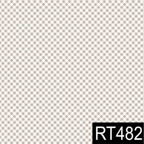Micro Xadrez Bege  - Tecidos Digitais