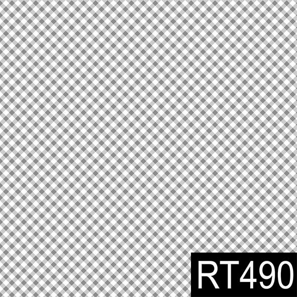 Micro Xadrez Cinza  - Tecidos Digitais