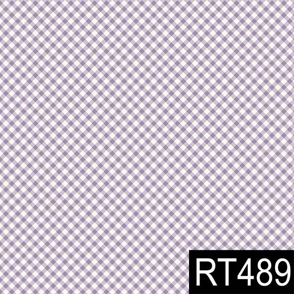 Micro Xadrez Lilás  - Tecidos Digitais