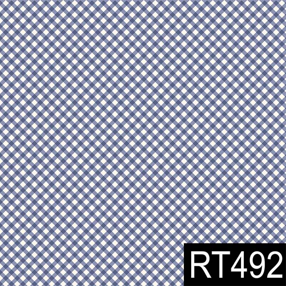 Micro Xadrez Marinho  - Tecidos Digitais