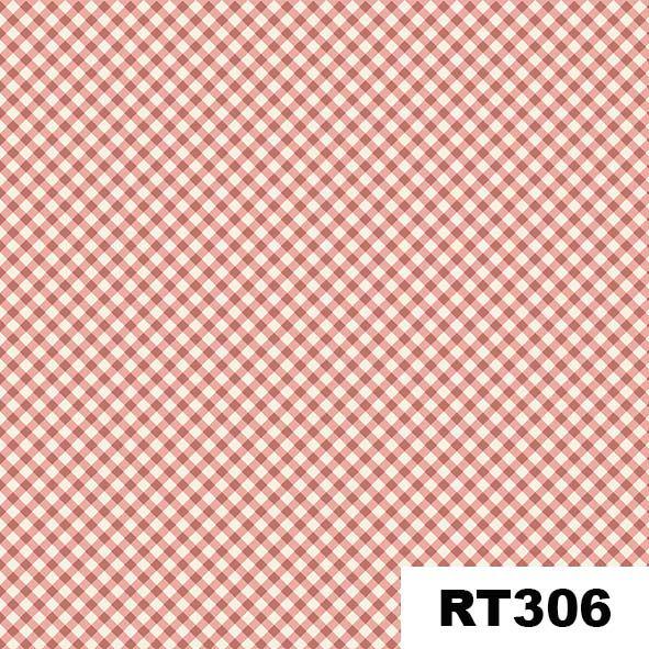 Micro Xadrez Salmão  - Tecidos Digitais