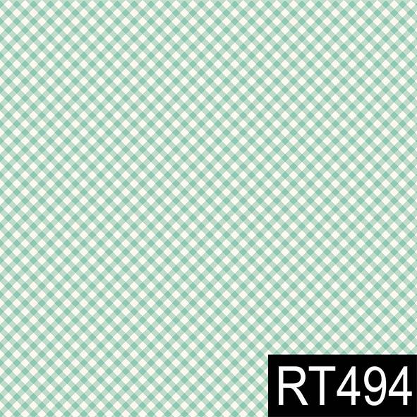 Micro Xadrez Turqueza  - Tecidos Digitais