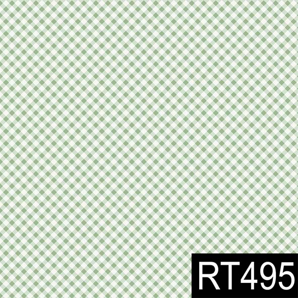 Micro Xadrez Verde Claro  - Tecidos Digitais