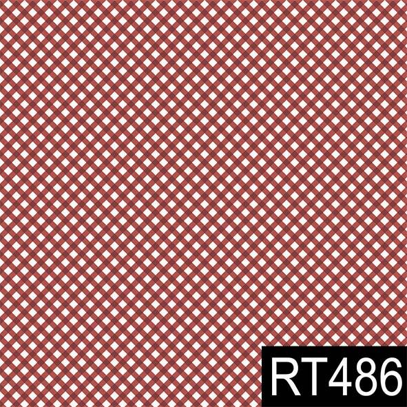 Micro Xadrez Vermelho  - Tecidos Digitais