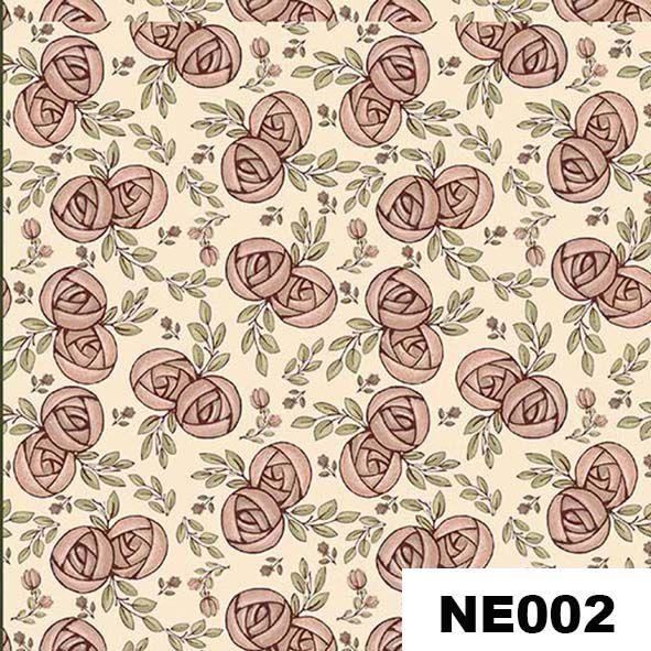 Mini Flores Romance  - Tecidos Digitais