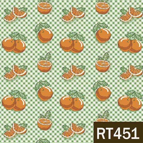 Mini Laranjas  - Tecidos Digitais