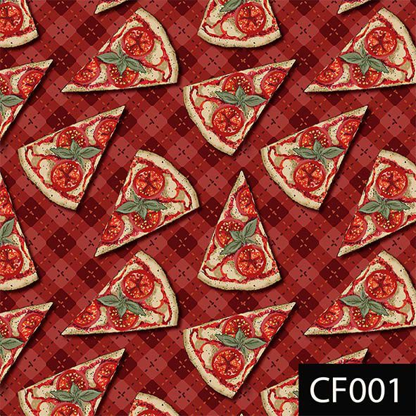 Mini Pizzas  - Tecidos Digitais
