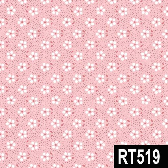 Mini Primavera Rosa  - Tecidos Digitais