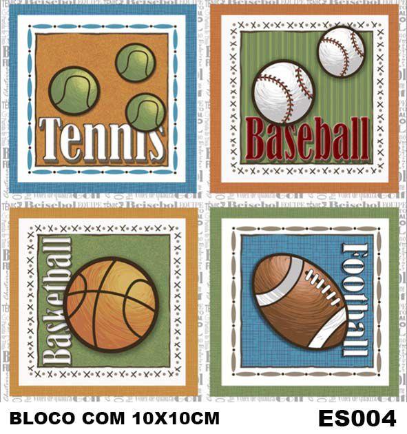 Painel Esportes de Bola  - Tecidos Digitais