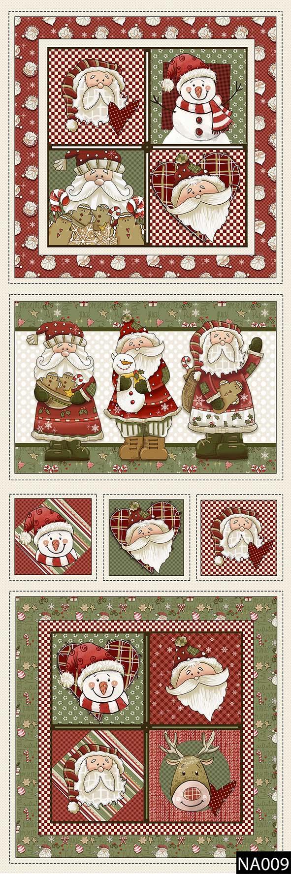 Painel Happy Christmas  - Tecidos Digitais