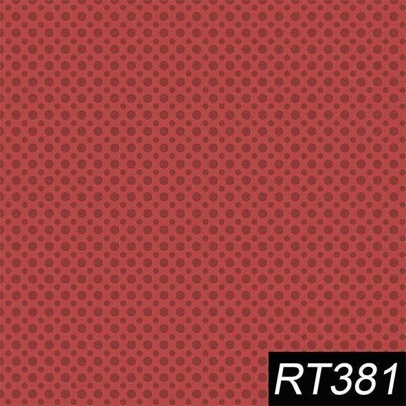 Poá Vermelho  - Tecidos Digitais