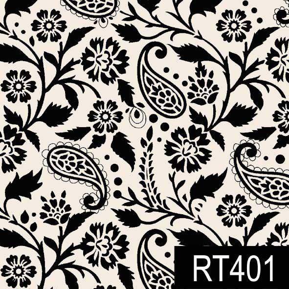 Ramalhete Vintage Preto  - Tecidos Digitais