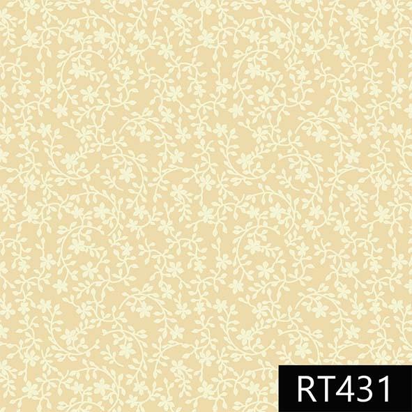 Raminhos Amarelo Claro  - Tecidos Digitais